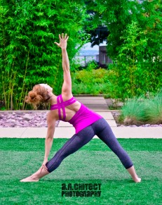 Triangle Pose Shanell Mergerson