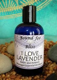 I Love Lavender