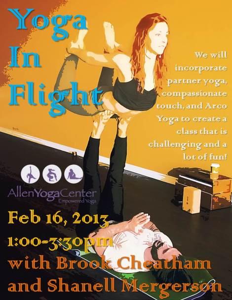 Yoga in Flight
